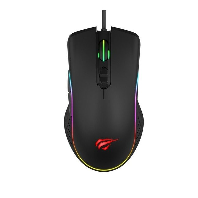 Gaming mouse Havit GAMENOTE MS1006 RGB 1000-3200 DPI