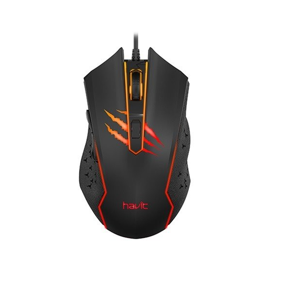 Havit GAMENOTE MS1027 1000-2400 DPI gaming mouse