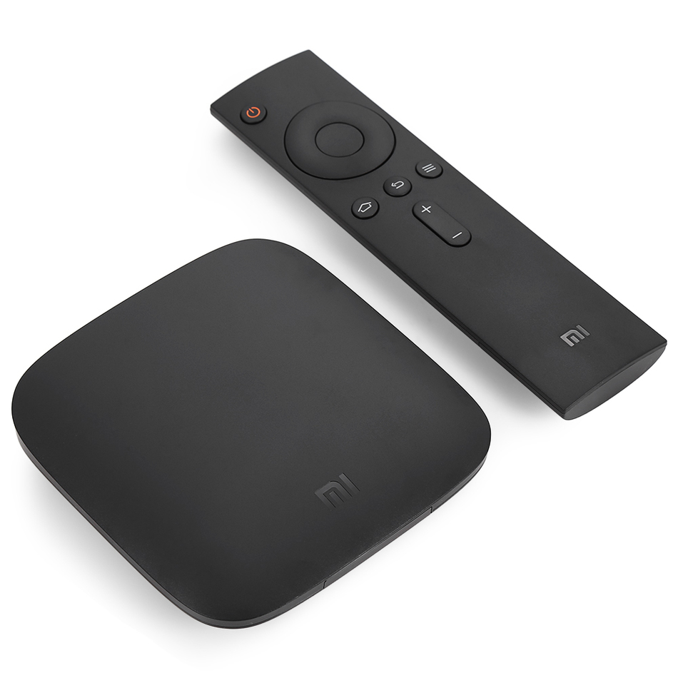 XIAOMI  MI BOX QUAD-CORE 64-BIT 8GB BLACK