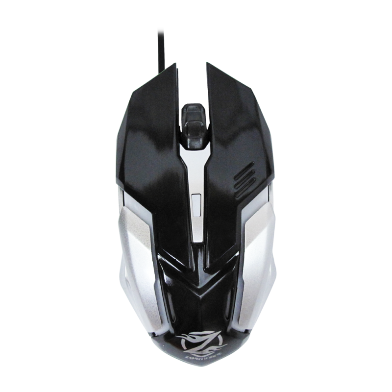 ZORNWEE LEGEND OF HEROES COLORFUL BACKLIT GAMING MOUSE BLACK