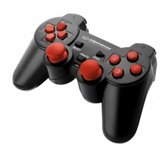 ESPERANZA GAMEPAD PC USB WARRIOR BLACK/RED
