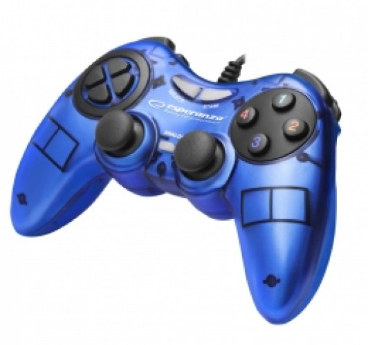 ESPERANZA GAMEPAD PC USB FIGHTER BLUE