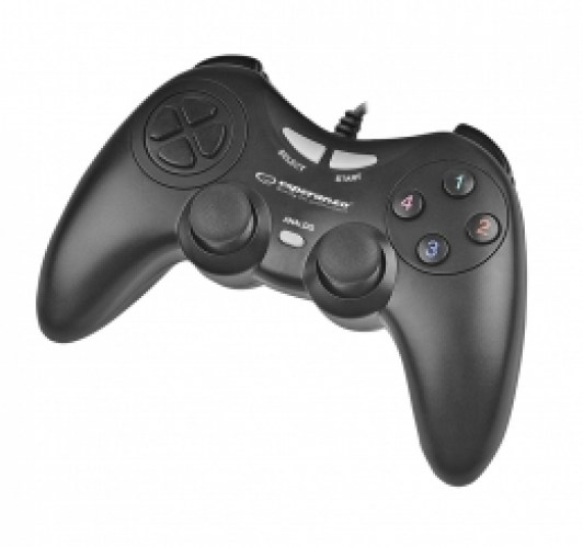 ESPERANZA GAMEPAD PC USB FIGHTER BLACK