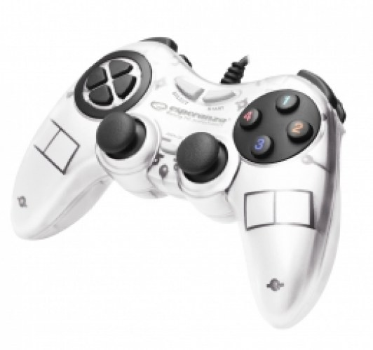 ESPERANZA GAMEPAD PC USB FIGHTER WHITE