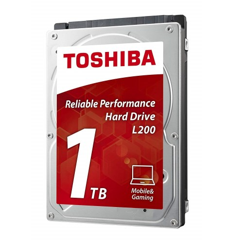 HDD TOSHIBA  L200, 1TB, 5400rpm, 8 MB, SATA 3Gb/s, 9.5 mm, HDWJ110UZSVA