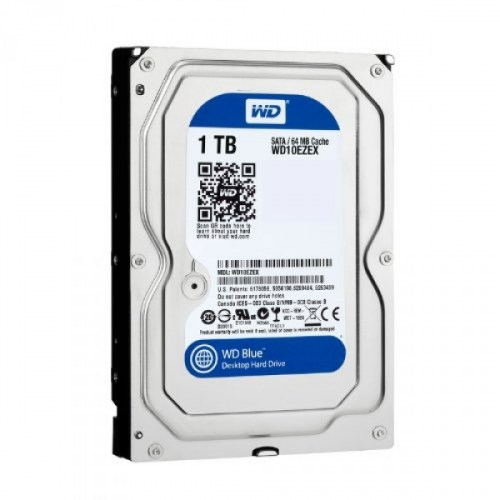 HDD WD Blue, 1TB, 7200rpm, 64MB, SATA 3