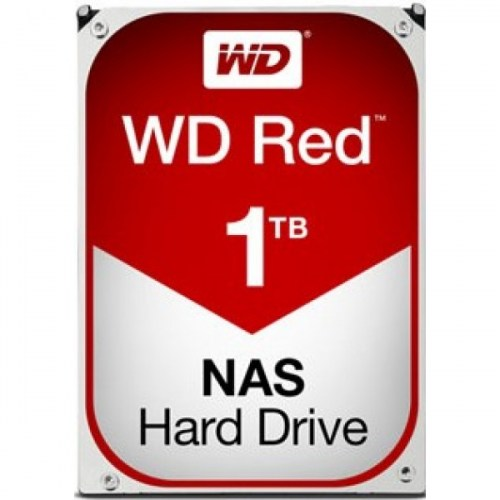 HDD WD RED, 1TB, 5400rpm, 64MB, SATA 3