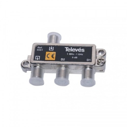 Tap-Off 2 ways 8dB Televes 4561