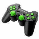 ESPERANZA WIRELESS GAMEPAD 2.4GHZ PS3/PC USB GLADIATOR BLACK/GREEN